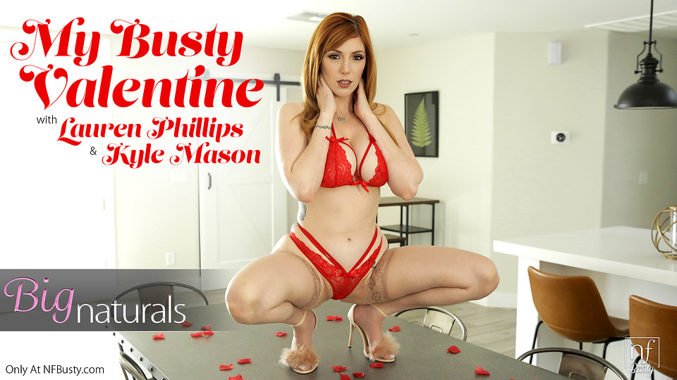 Busty Porn – Valentines Day Seduction